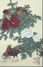 王姿尹書畫師生聯展33-黃紫瀅-花開富貴