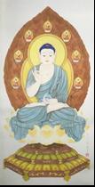 王姿尹書畫師生聯展18-陳芳素-藥師佛