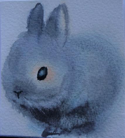 020-蘇品涵繪畫創作展-水彩作品-毛小孩動物系列