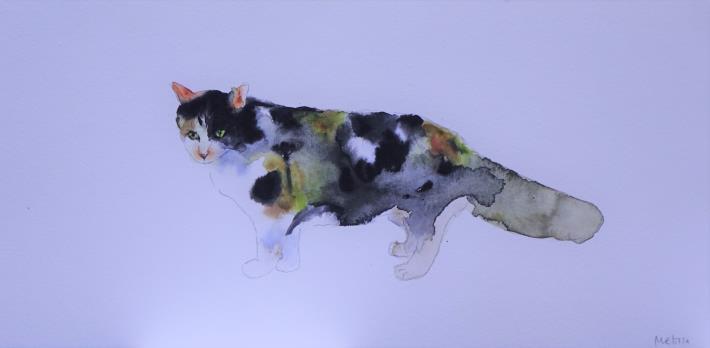023-蘇品涵繪畫創作展-毛小孩動物系列