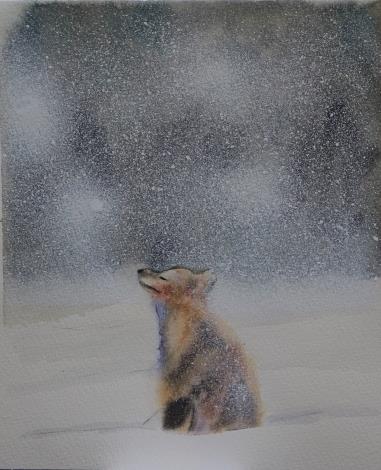 014-蘇品涵繪畫創作展-水彩作品-毛小孩動物系列