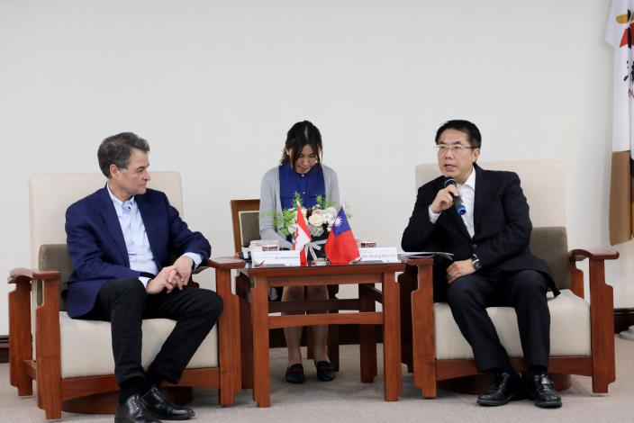 加拿大國會議員團拜會市長黃偉哲,盛讚臺南猶如夢想中的城市(共3張)-3