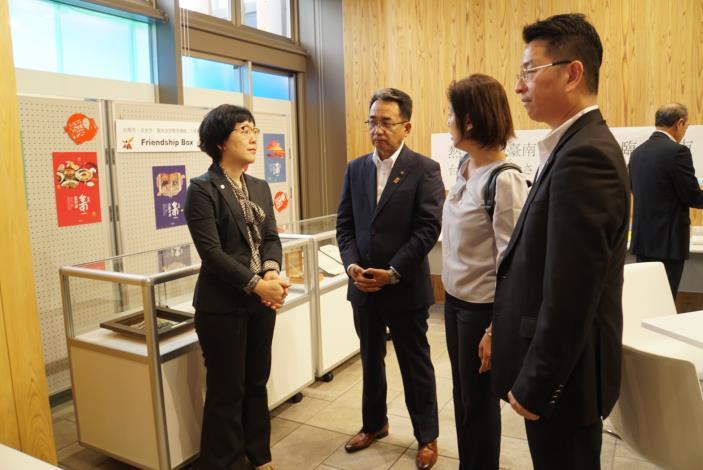 慶賀台南與日本日光市締盟十週年紀念,台南市王時思副市長率隊訪問日光市(共6張)-2