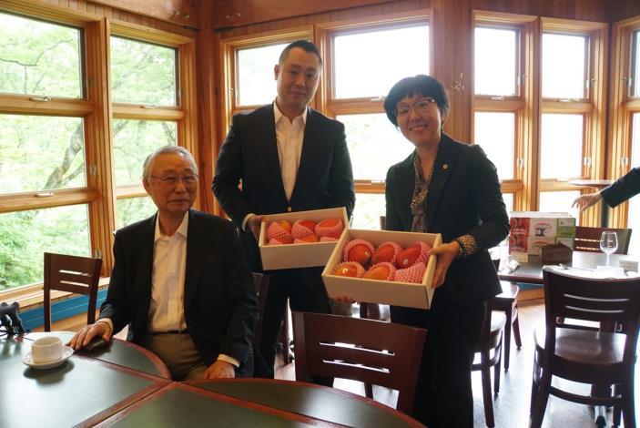 慶賀台南與日本日光市締盟十週年紀念,台南市王時思副市長率隊訪問日光市(共6張)-3