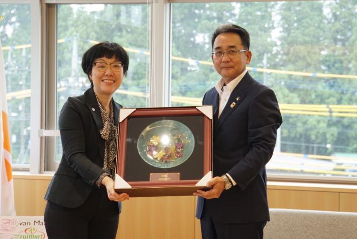 慶賀台南與日本日光市締盟十週年紀念,台南市王時思副市長率隊訪問日光市(共6張)-5
