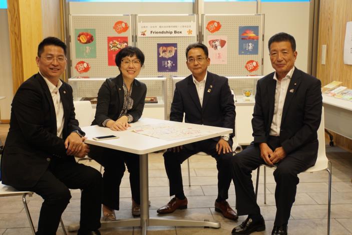 慶賀台南與日本日光市締盟十週年紀念,台南市王時思副市長率隊訪問日光市(共6張)-4