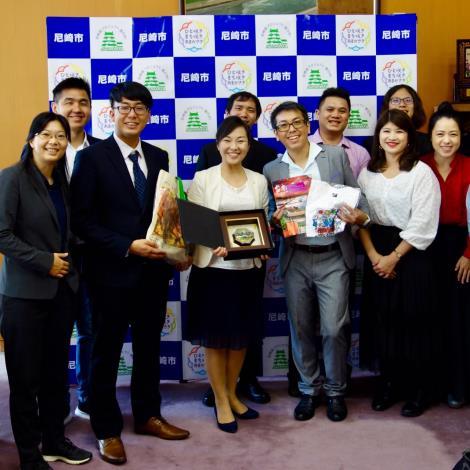 台南日本友好,尼崎市市長驚喜感謝黃偉哲市長親筆信函及邀訪