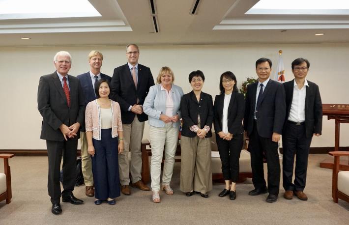 德國綠能重鎮訪問臺南 什霍邦議會基民黨團主席拜會王時思副市長(共2張)-2