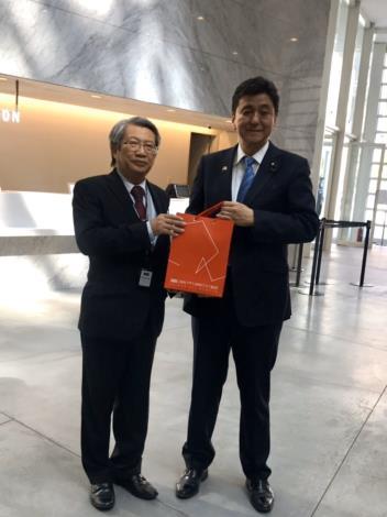 日本眾議員岸信夫率山口縣議員再訪臺南 黃偉哲市長期待兩地關係升溫(共7張)-5
