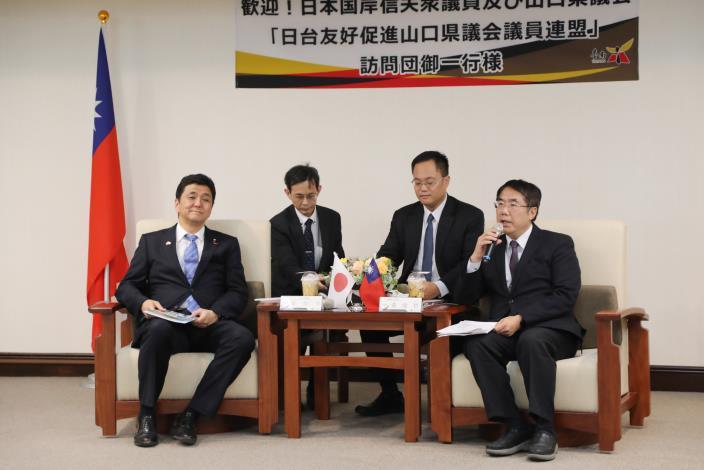 日本眾議員岸信夫率山口縣議員再訪臺南 黃偉哲市長期待兩地關係升溫(共7張)-3