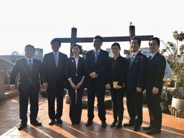 日本眾議員岸信夫率山口縣議員再訪臺南 黃偉哲市長期待兩地關係升溫(共7張)-6