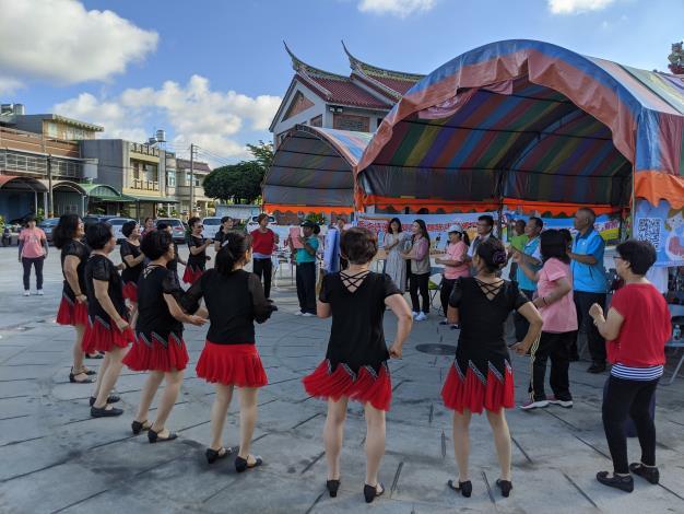 表演團體舞蹈表演