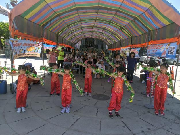 北農幼兒園表演