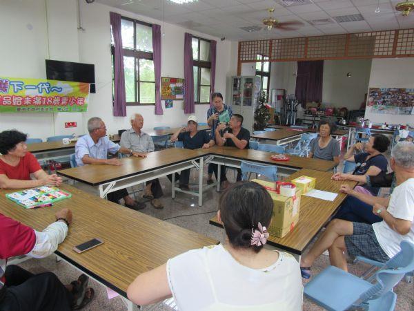 討論豪雨後社區環境衛生問題