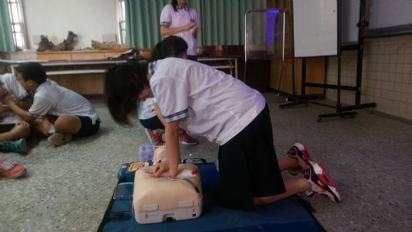 北門國中心肺復甦術教育訓練