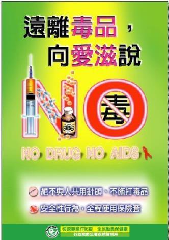 毒品不防治,愛滋難控制