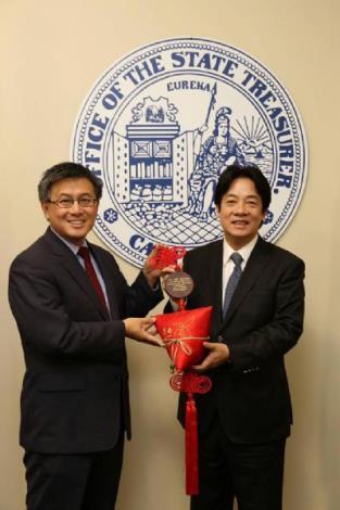 Mayor Lai met with California California State Treasurer John Chiang