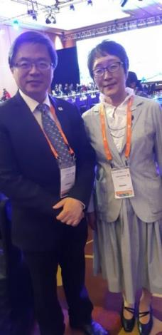 Mayor Li and Deputy Governor of Tokyo