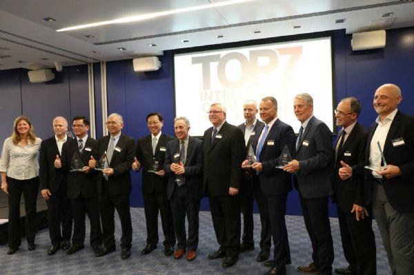 TOP 7 winners with ICF President