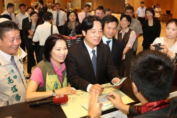 賴市長申請Tainan Pass