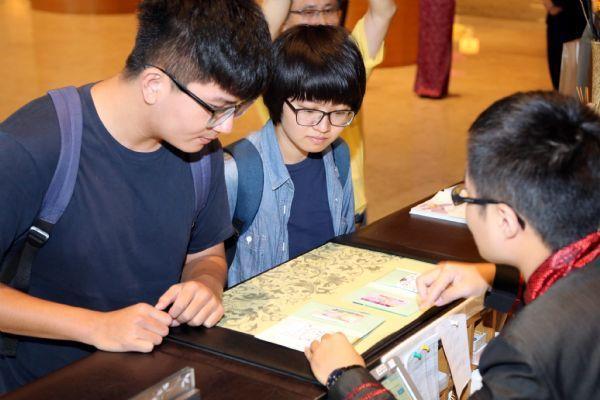 民眾於飯店申請Tainan Pass