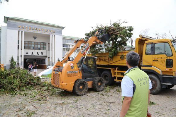 台南協助台東重建