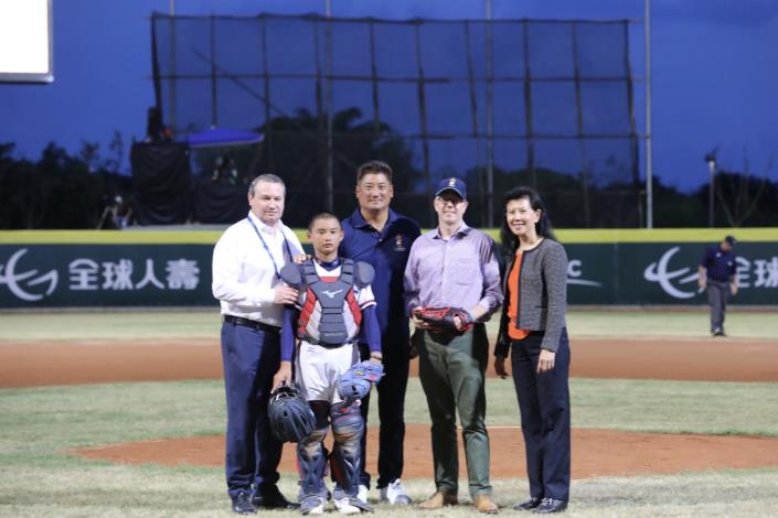 Matthew O'Connor Opens WBSC U-12 Baseball World Cup -4