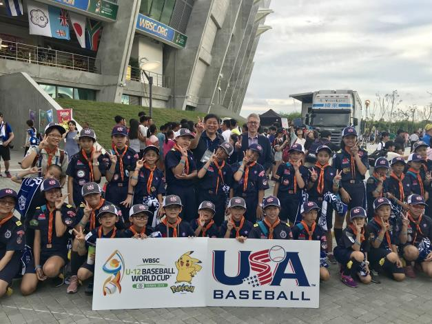 Matthew O'Connor Opens WBSC U-12 Baseball World Cup -3