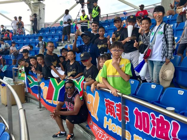 South African Representative Travels to Tainan to Show Support for U12 South African Athletes-4
