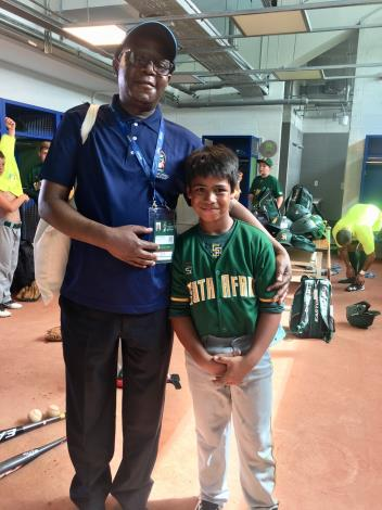 South African Representative Travels to Tainan to Show Support for U12 South African Athletes-7