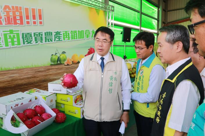 Mayor Huang Wei-che Markets First-class Tainan Produce to Canada-3