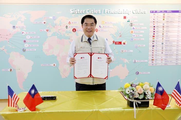 Mayor Huang Wei-che Announces West Covina Has Signed Friendship City Agreement with Tainan1