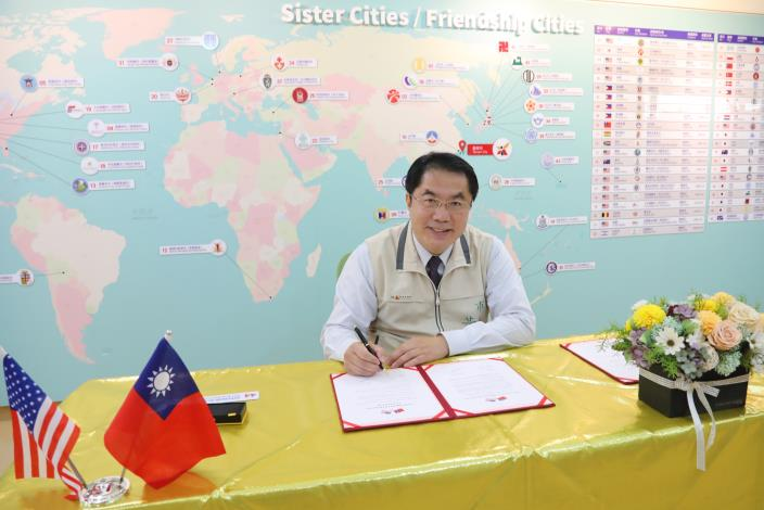 Mayor Huang Wei-che Announces West Covina Has Signed Friendship City Agreement with Tainan3