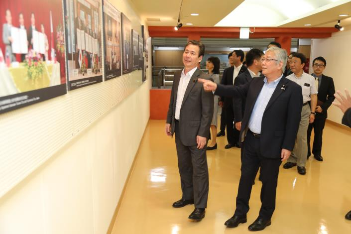 自民党議員が台南市を訪問 日台の友好交流促進に期待-4