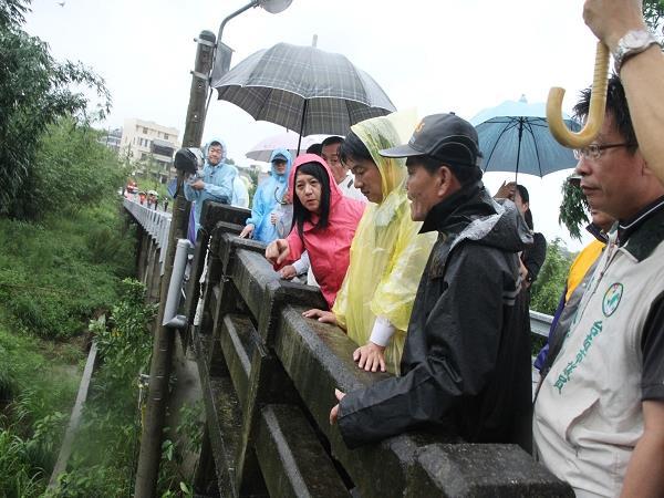 賴市長颱風天關切市民安危