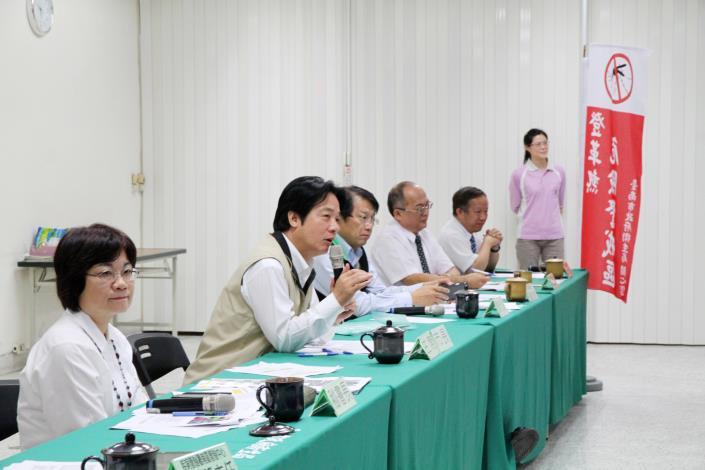 賴市長主持登革熱流行疫情指揮中心第11次會議