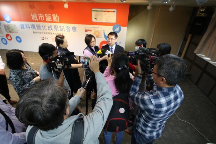 市長回應記者提問