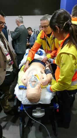 參訪加泰隆尼亞政府5G救護車