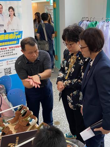 王副市長參訪阿瘦皮鞋