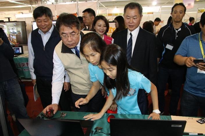 市長參觀教育科技館