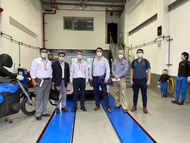 Project 2049 Institute執行總監石明凱等代表參訪臺灣智駕測試實驗室