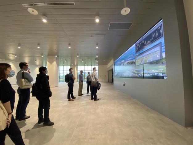 Project 2049 Institute執行總監石明凱等代表參訪聯合研究中心