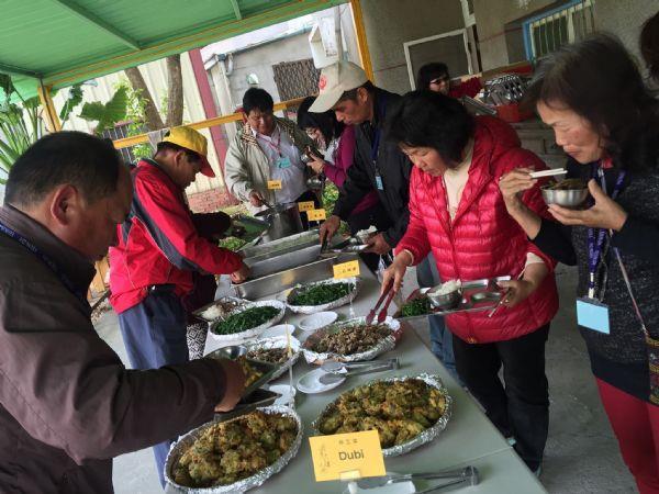 西拉雅志工觀摩活動-伴工菜體驗