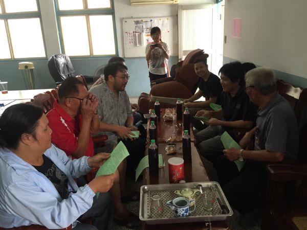 7月17日-團隊了解吉貝耍部落目前的發展情形