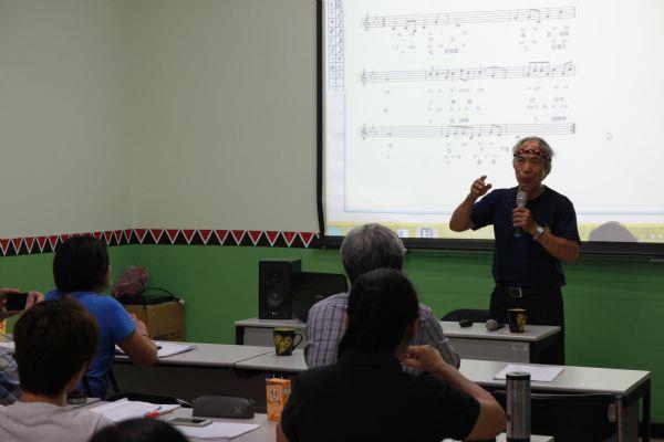 西拉雅語創作歌謠及導唱
