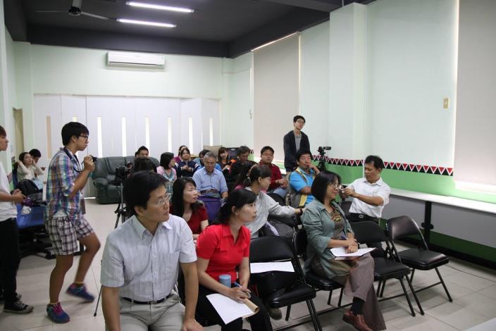 講座讓學員們在探索臺南史前文化區域前先有基本的認識