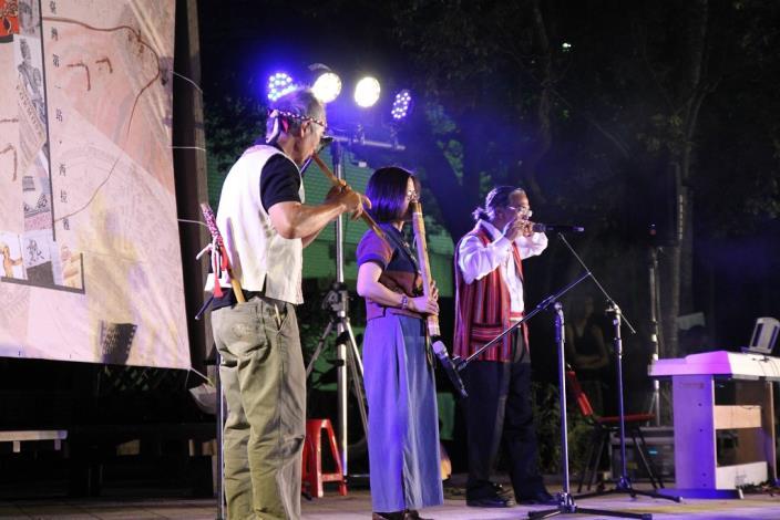 西拉雅鼻笛與排灣族雙鼻笛對話