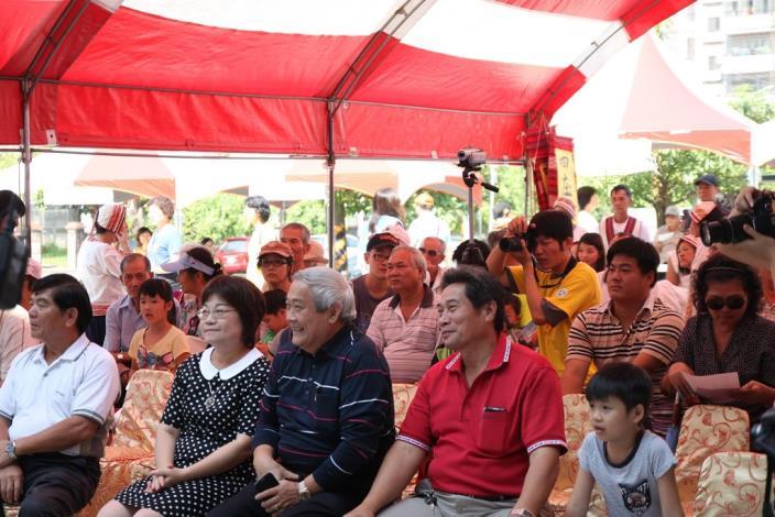陳秘書長與參與民眾