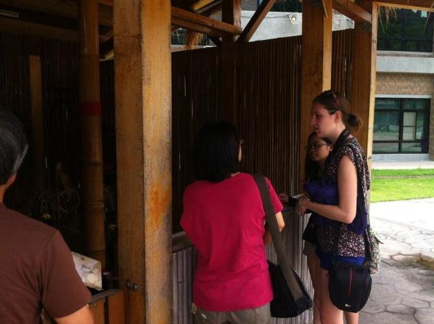 外國志工參與訪問
