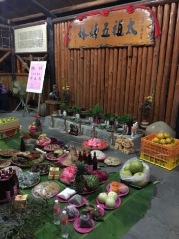 六溪平埔夜祭